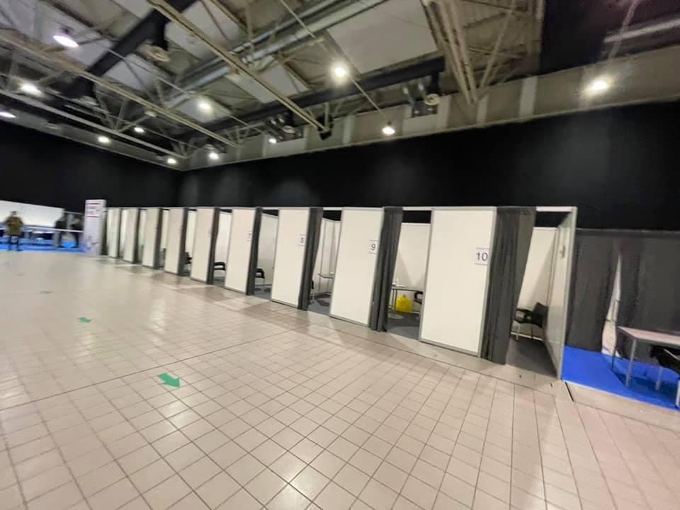 N1: Zatvoren Belekspo centar iako su građani dobili poziv za vakcinaciju 1