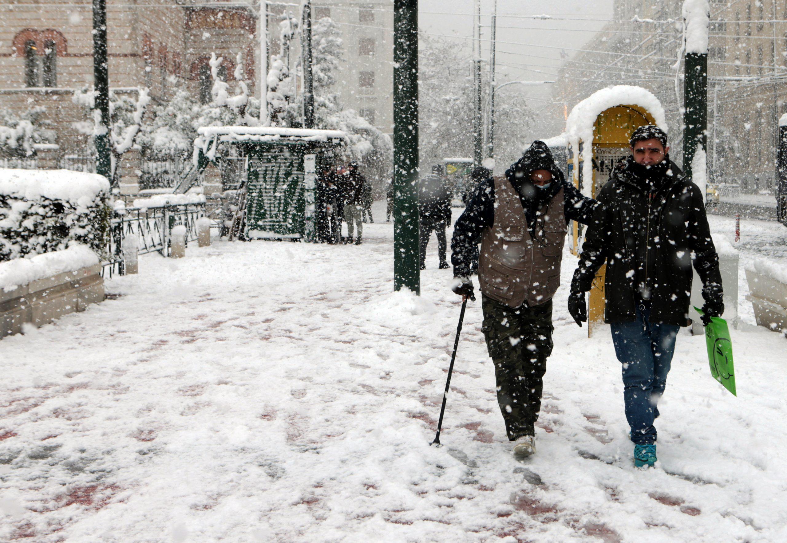 U Grčkoj dve osobe stradale u talasu hladnoće i snežnim padavinama 1