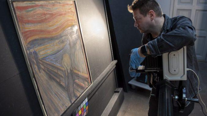 Muzej Norveške: Autor natpisa na slici Krik, sam umetnik - Edvard Munk 4