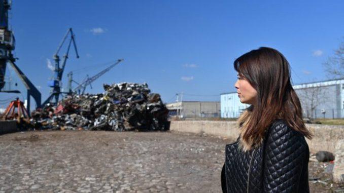 Ministarka zaštite životne sredine najavila prijave zbog otpada u Luci Beograd 5