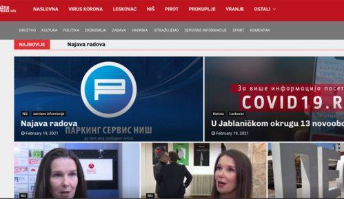 Južne vesti: Lažni sajt još jedan način za obračunavanje sa profesionalnim medijima 2