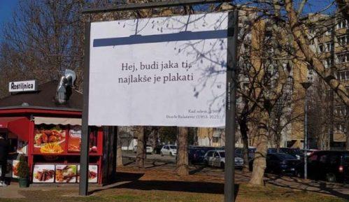 Balaševićevi stihovi na bilbordima u Novom Sadu 11