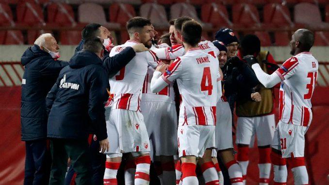 Fudbaleri Zvezde krenuli na revanš utakmicu u Milano 5