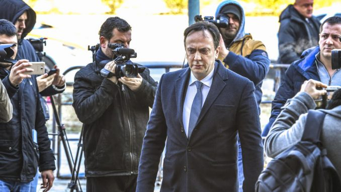 Bivši direktor Državne bezbednosti S.Makedonije u Tužilaštvu posle dva dana bekstva 3