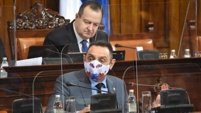 Vulin rekao da je porodica Vučić razgovarala sa 26 prisluškivanih osoba, ali da nema kriminala 5
