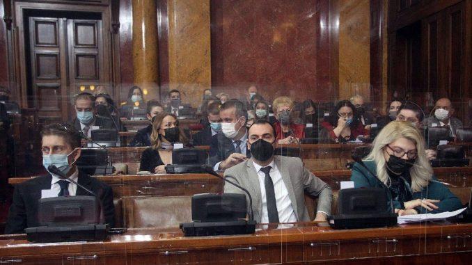 Sednica o setu energetskih zakona započeta pitanjima o koroni, istragama i Đilasu 1