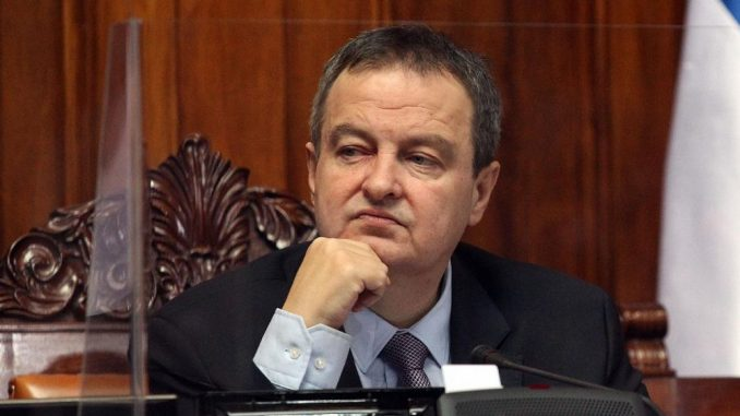 Dačić: Krajem meseca odgovor o tome šta je Agenda za međustranački dijalog 3