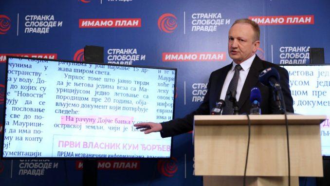 Đilas: Vučić je iza kriminalne grupe koja falsifikuje dokumenta 1