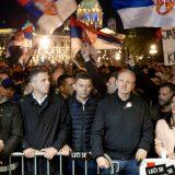 """Protesti """"zahtevaju"""" jedinstvo i podršku Zapada 5"""