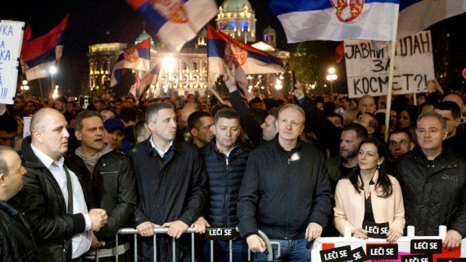 """Protesti """"zahtevaju"""" jedinstvo i podršku Zapada 3"""