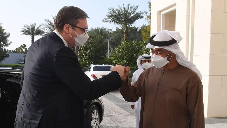 Vučić razvija privatno poslovni odnos sa partnerima iz UAE 1