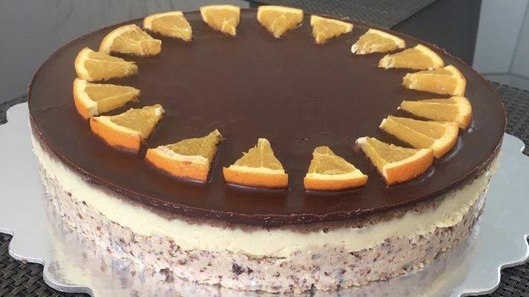 Vege recept: Sirova jafa torta 1
