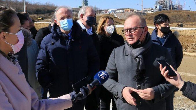 Vesić: Radovi na izgradnji nove deponije u Vinči biće gotovi polovinom godine 1
