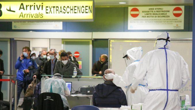 Italija ukinula karantin za putnike iz EU, Velike Britanije i Izraela, negativan test obavezan 3