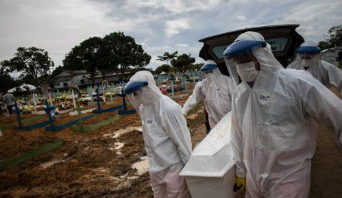 Brazil će večeras preći prag od 400.000 preminulih od korona virusa 2