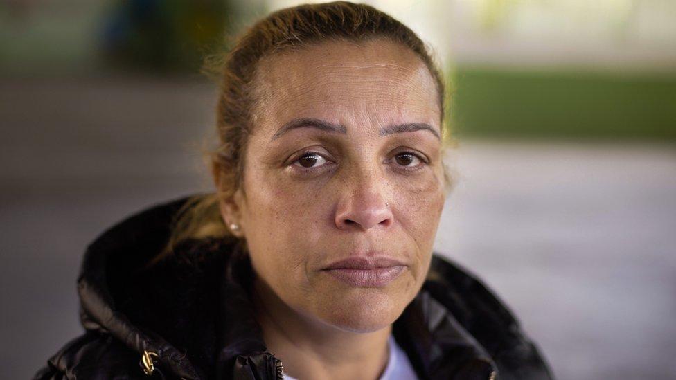 Igor's mother Ana Paula Rocha