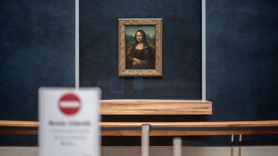 """Mona Liza"" v Luvre"