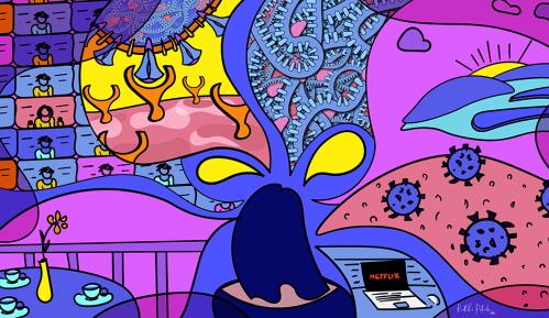 Žene, korona virus i kreativnost: Umetnice koje ilustruju pandemiju Kovida-19 i pomažu nam da lakše shvatimo 5