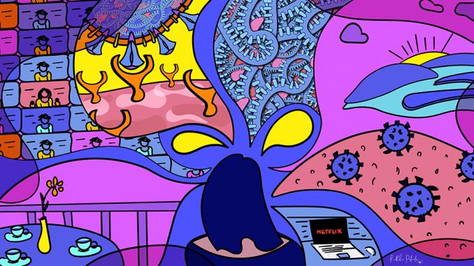 Žene, korona virus i kreativnost: Umetnice koje ilustruju pandemiju Kovida-19 i pomažu nam da lakše shvatimo 3