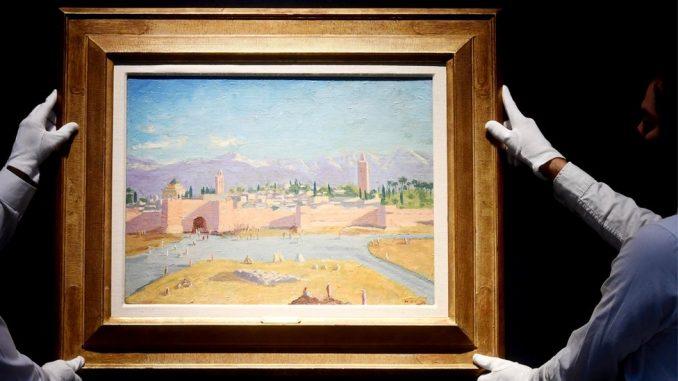 Anđelina Džoli prodala Čerčilovu sliku za osam miliona evra 3