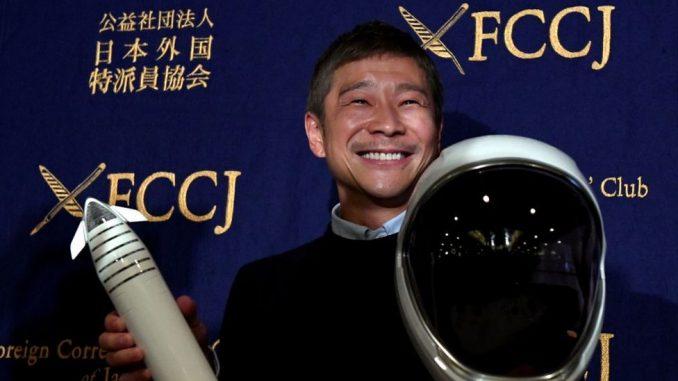 Svemir i putovanja: Japanski milijarder traži osmoro ljudi za let do Meseca 3