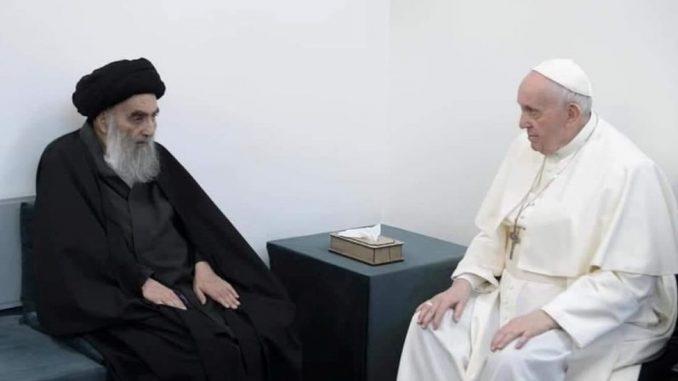 Papa Franja u poseti Iraku: Sastanak sa vrhovnim šiitskim sveštenikom i međureligijska molitva 3