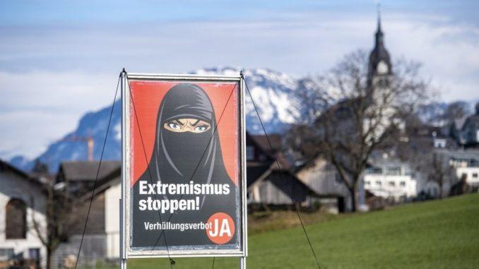 Referendum u Švajcarskoj: Glasači podržali zabranu pokrivanja lica u javnosti 3