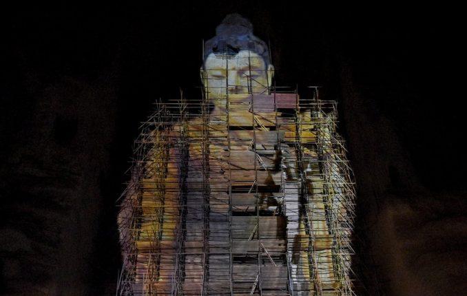 Avganistan i Bude iz Bamijana: Neverovatne fotografije 3D projekcije drevne statue koju su uništili talibani 3