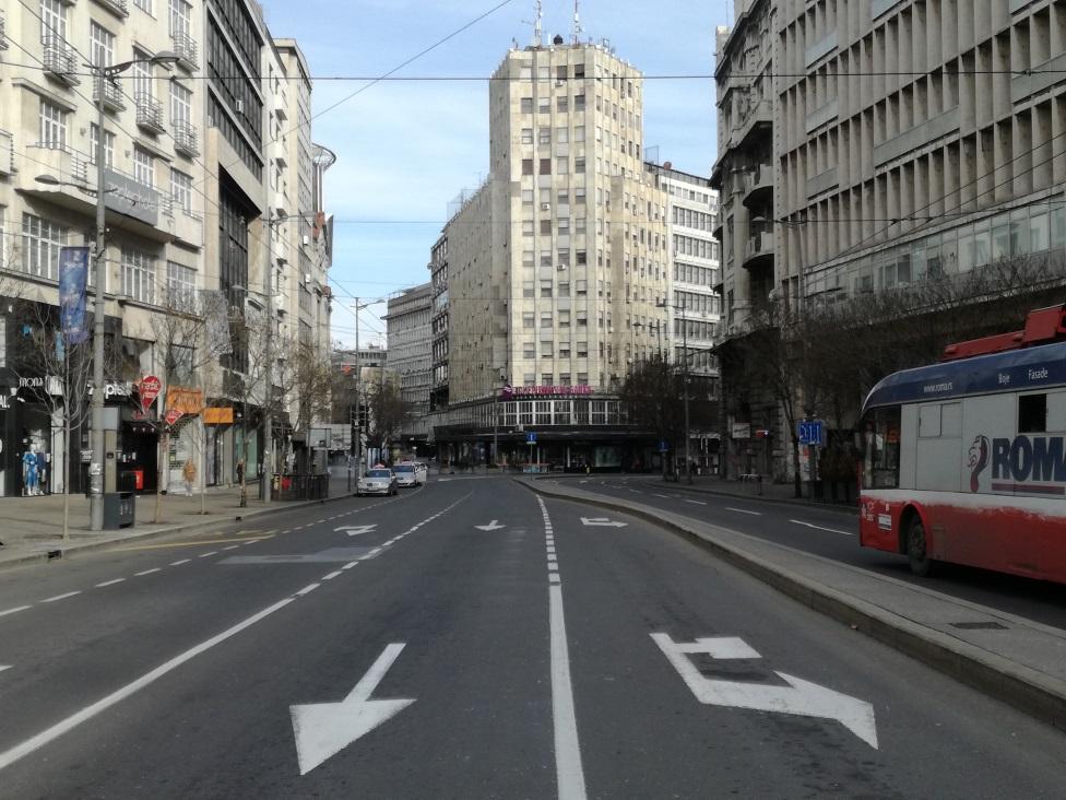 Beograd, palata Albanija