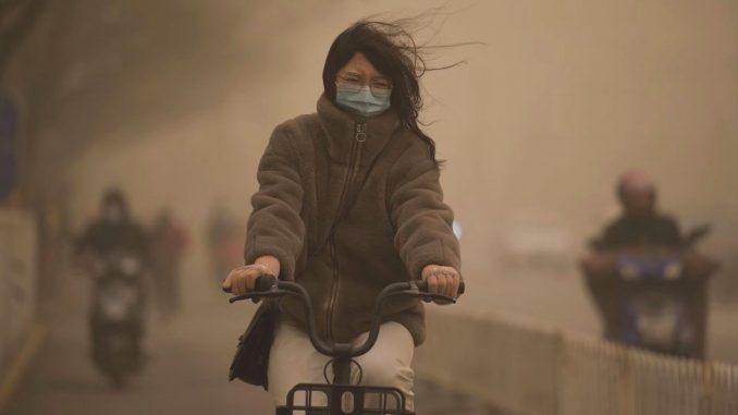 Kina i vreme: Apokaliptične slike najjače peščane oluje u Pekingu u protekloj deceniji 5