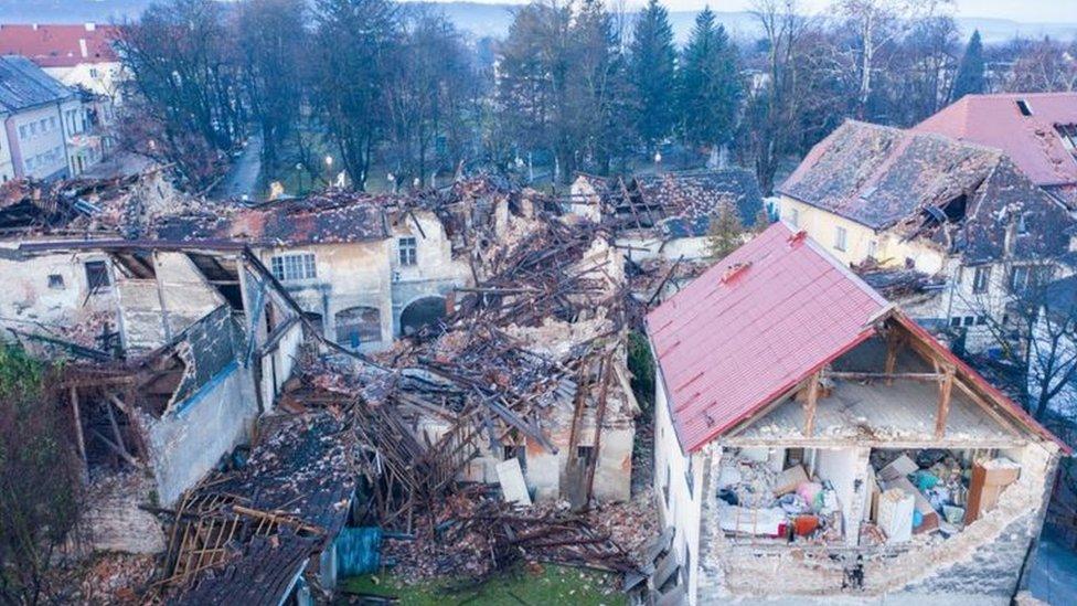 Novi potres između Siska i Petrinje 1