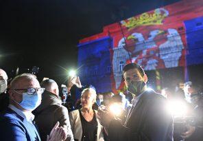 Novakovi uspesi na fasadi Starog dvora (FOTO) 6