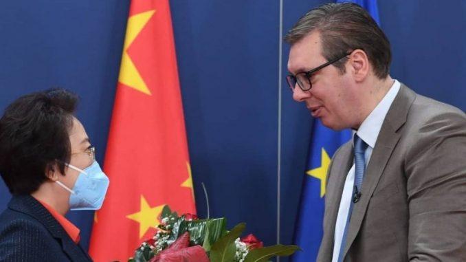 Vučić sa Čen Bo: Napredak saradnje Srbije i Kine, za pet godina izvoz povećan za 15 puta 5