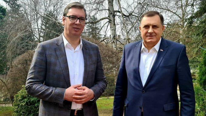 Dodik najavio da će Vučiću reći da međunarodna zajednica ignoriše političke faktore i pravo 1