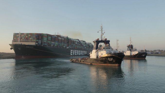 Egipatski sud potvrdio zaplenu broda koji je blokirao Suecki kanal 1
