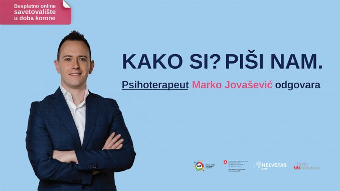 Psihološko savetovalište na portalu Danasa: Vi pitate, Marko Jovašević odgovara 4