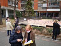 Peticija protiv bašte kafića na zelenoj površini u Bulevaru kralja Aleksandra (FOTO) 2