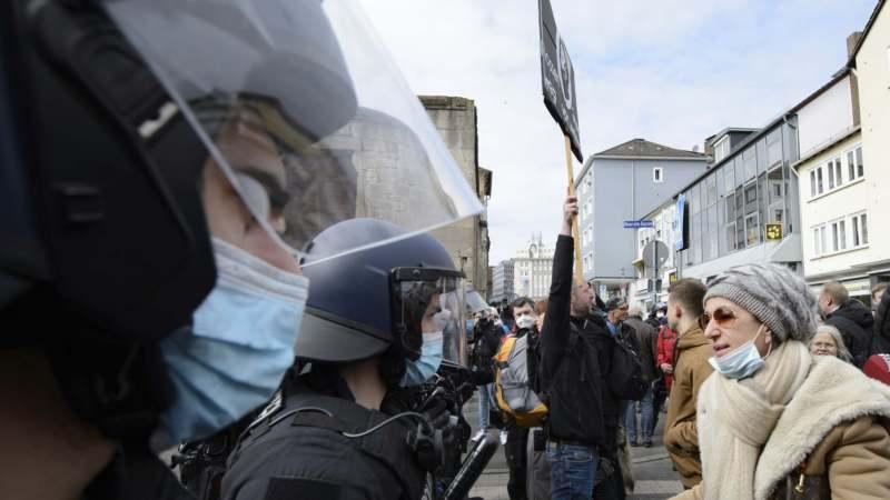 Demonstracije protiv ograničenja u više evropskih zemalja 1