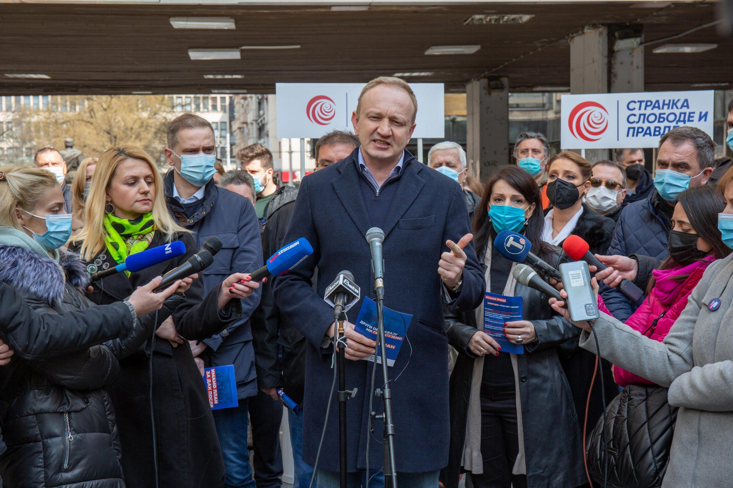 Đilas (SSP): Ne želimo da se politička kriza prelije na ulicu, EU svesna situacije (VIDEO) 1