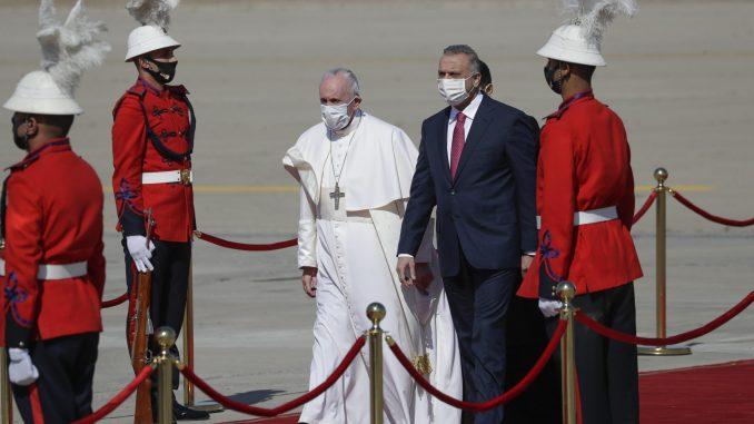 Papa Franja doputovao u trodnevnu posetu Iraku 5