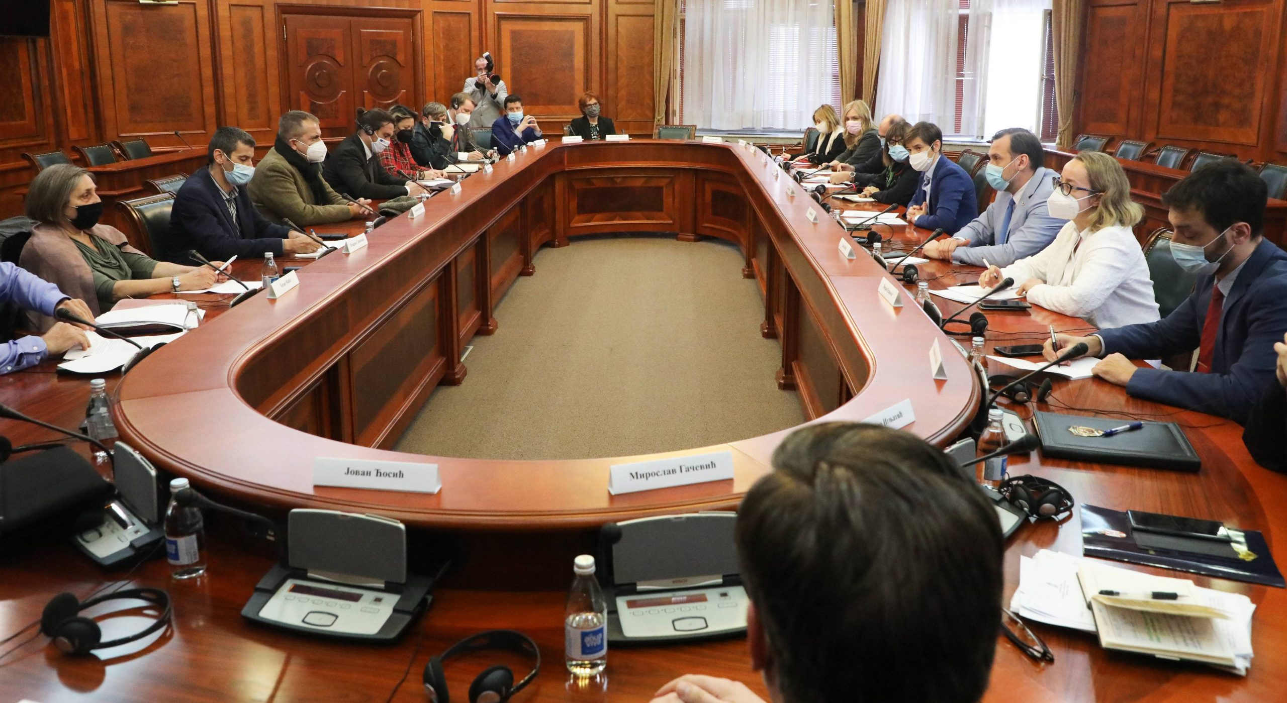 Premijerka pozvala novinarska udruženja da se vrate u radnu grupu 1
