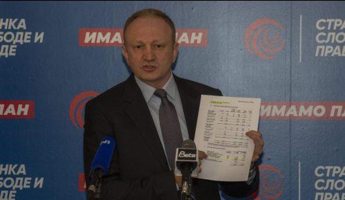 Đilas: Dokument Večernjih novosti je falsifikat, prijave protiv svih koji su u tome učestvovali 11