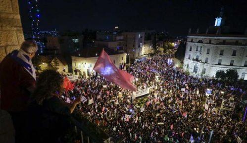 Hiljade ljudi na demonstracijama protiv Netanjahua tri dana pred izbore 6