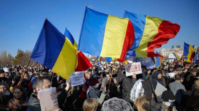U Rumuniji skup protivnika vakcine protiv korona virusa 2