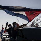 Na Kubi protest biciklima i automobilima protiv američkog embarga 2