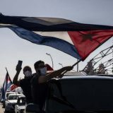 Na Kubi protest biciklima i automobilima protiv američkog embarga 7