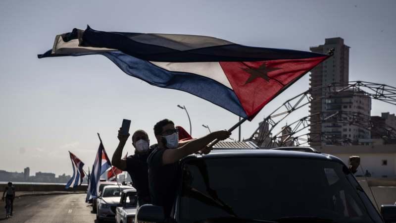 Na Kubi protest biciklima i automobilima protiv američkog embarga 1