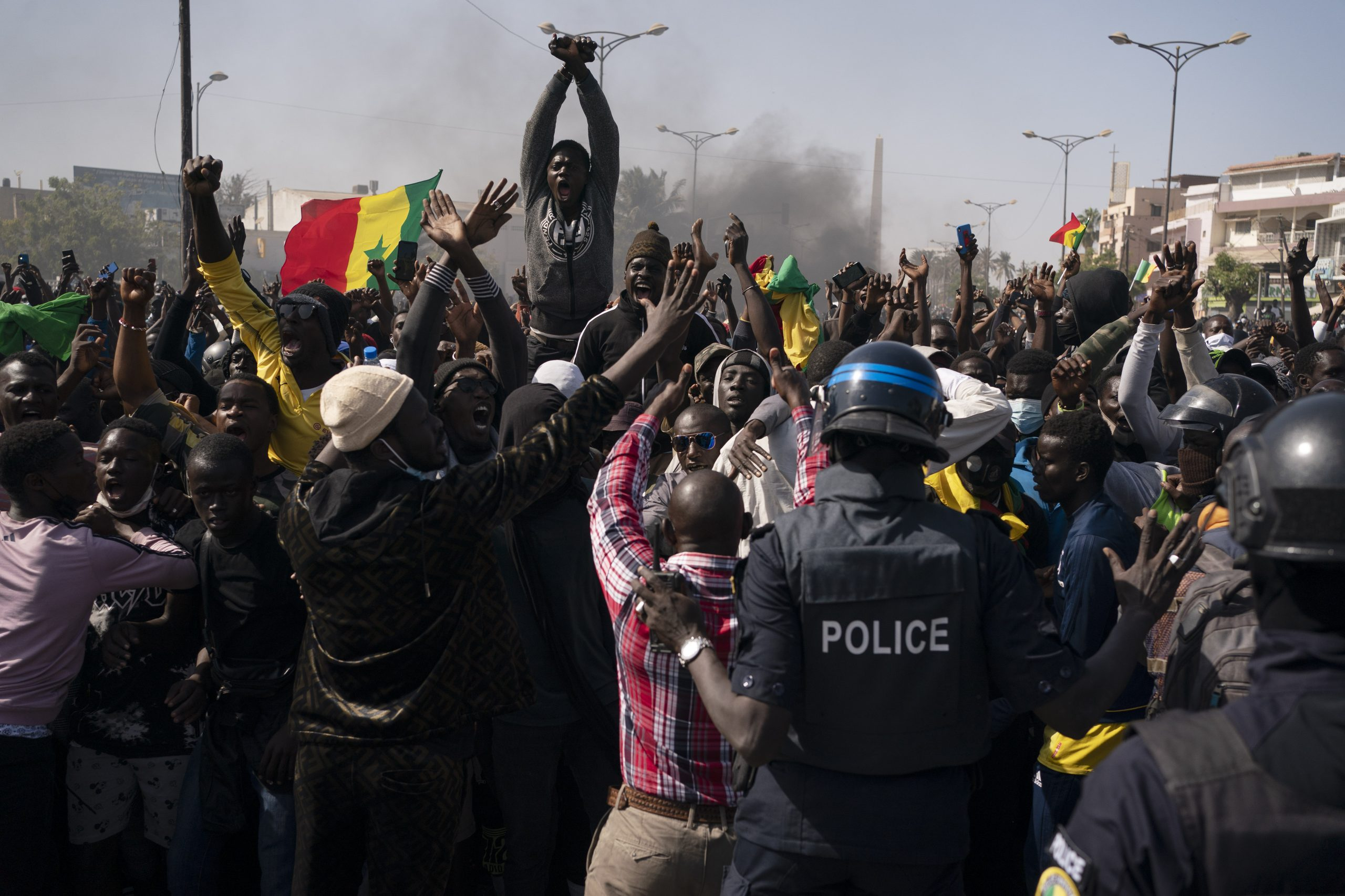 U Senegalu neredi na skupu pristalica opozicionara Usmana Sonka 1