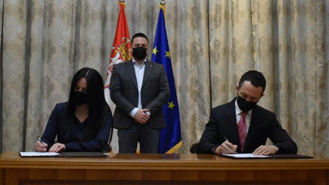 Sporazum o naučnoj i kulturnoj saradnji Istorijskog arhiva Požarevac i Istorijskog instituta Beograd 1