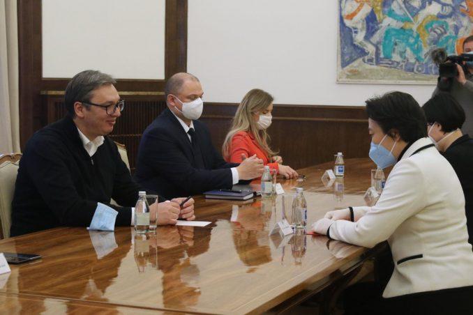 Vučić i kineska ambasadorka: Fabrika za proizvodnju vakcina u Srbiji biće u skladu sa najvišim standardima 5